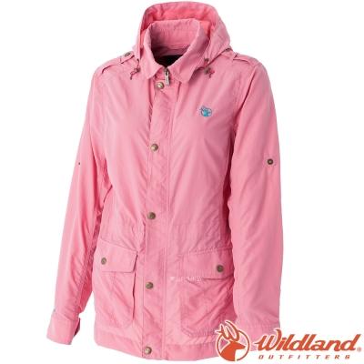 Wildland 荒野 0A51909-28珍珠粉 女 Supplex抗UV外套