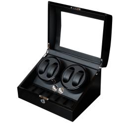 PARNIS BOX 原木鋼琴烤漆自動收納盒 (自動上鍊盒4+6) 動力儲存盒/搖錶器
