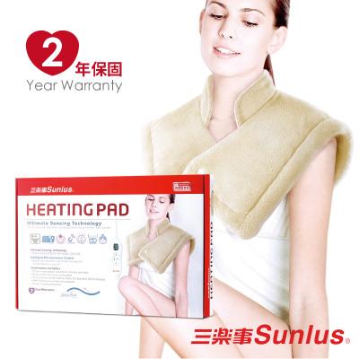 Sunlus三樂事LCD頸肩雙用熱敷柔毛墊MHP1012 (醫療級)
