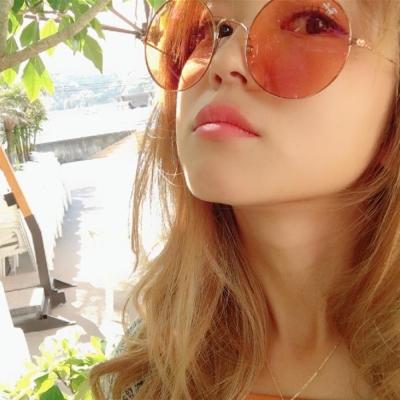 RAY BAN太陽眼鏡 復古圓框/金-淺色橘#RB3592 9035C6 55mm