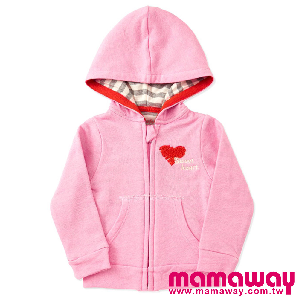 [8折]Mamaway Baby 柔軟休閒連帽外套(共三色)