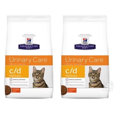Hills 希爾思 泌尿道護理 c/d 貓用處方乾糧(8679)8.5磅 X 2包