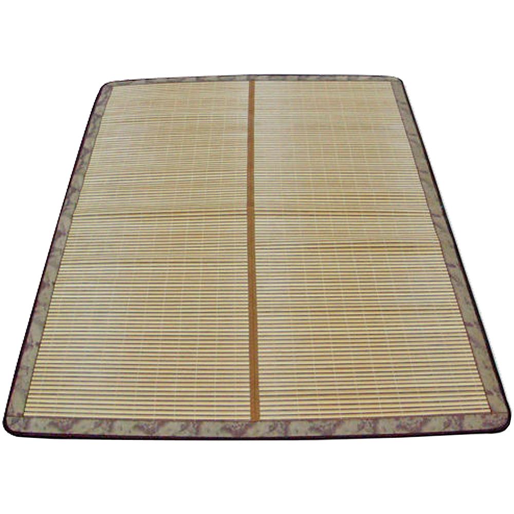 范登伯格 - 芯竹 日式禪風雙人竹蓆 (150x186cm)