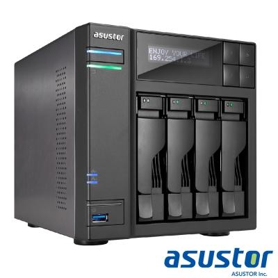 ASUSTOR華芸 AS6404T 4Bay NAS 網路儲存伺服器