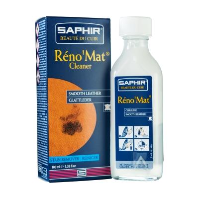 【SAPHIR莎菲爾】萬用皮革清潔露-深層清潔各種皮革,清潔效果絕佳,且不傷害皮革