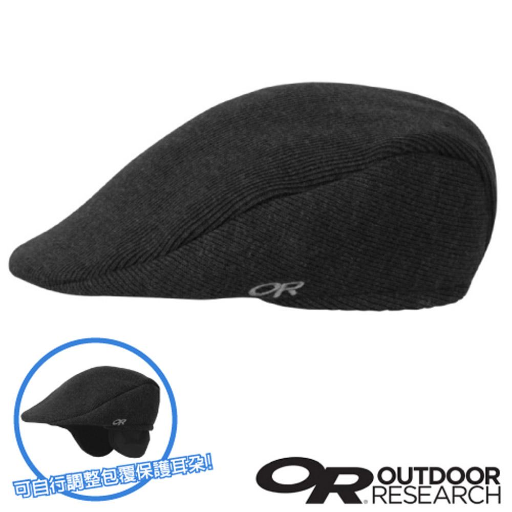 【Outdoor Research】PUB CAP 羊毛透氣保暖護耳帽_黑