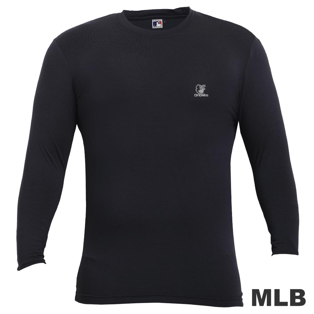 MLB-高領熱力棉T恤-深藍(男)