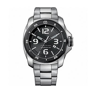 TOMMY HILFIGER Windsurf海洋大錶冠腕錶(M1790769)-46mm