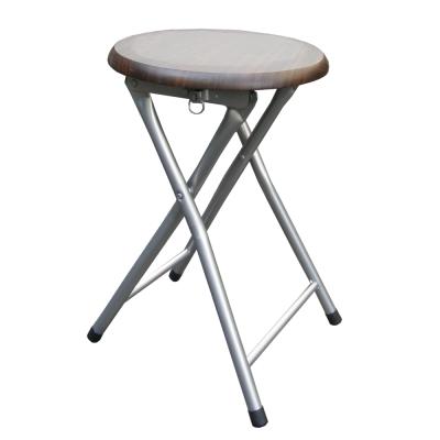 Dr. DIY 木製圓形椅座折疊椅-4入/組(二色可選)