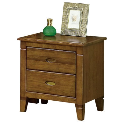 時尚屋 巴比倫黃檀實木床頭櫃