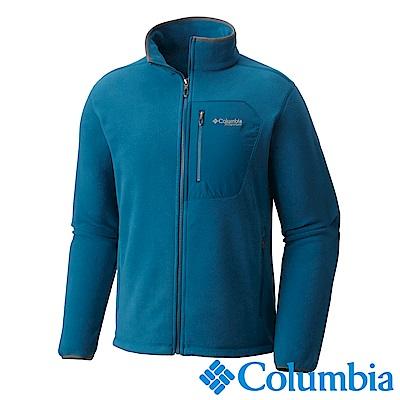 Columbia哥倫比亞  男款-鈦PL200刷毛外套-藍色 UAE30950BL