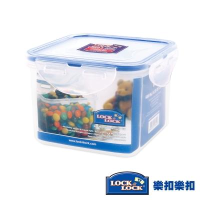 樂扣樂扣CLASSICS系列PP保鮮盒-正方形680ML(8H)