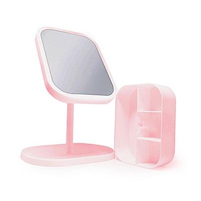LED美瞳光收納檯燈化妝鏡