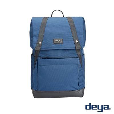 deya 率真自我  防潑水後背包 深藍