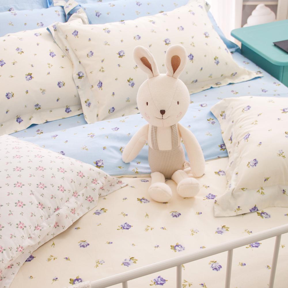 OLIVIA  亞爾薩斯  單人床包歐式枕套兩件組