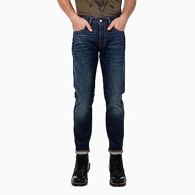 牛仔褲 男款 501CT 中腰經典錐形褲 赤耳 硬挺厚磅 White Oak布廠 - Levis