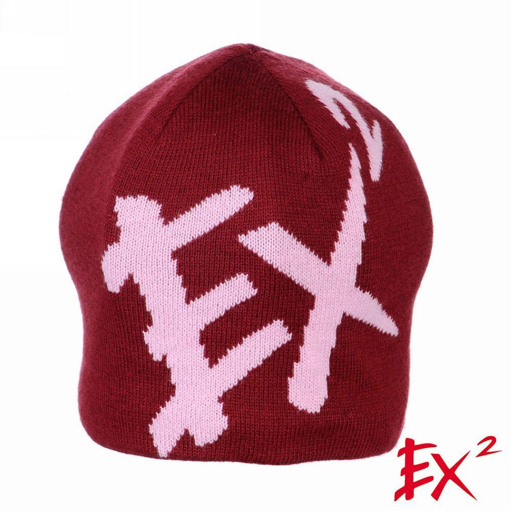 德國EX2 《針織圓帽》(酒紅)