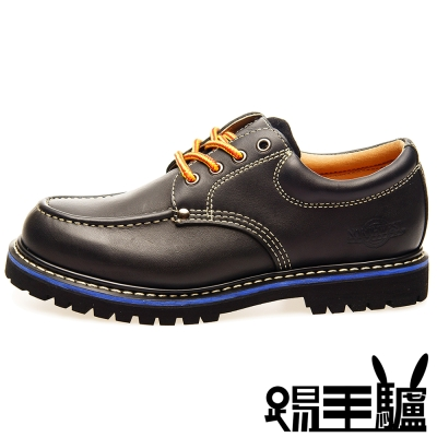 NORTHWEST手工軟木美式短筒休閒鞋TM-0458A S(曜石黑)