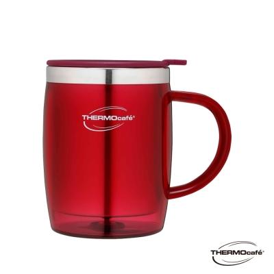 THERMOcafe凱菲不鏽鋼真空隔溫杯0.35L(DOM-350SH-BGD)