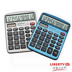 LIBERTY利百代 輕巧簡單-掌上型12位數計算機 LB-5012