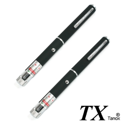 TX特林筆型綠光雷射筆35mW附滿天星2 入組(T-G35-2)