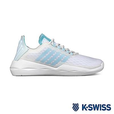 K-Swiss Functional輕量訓練鞋-女-白/藍