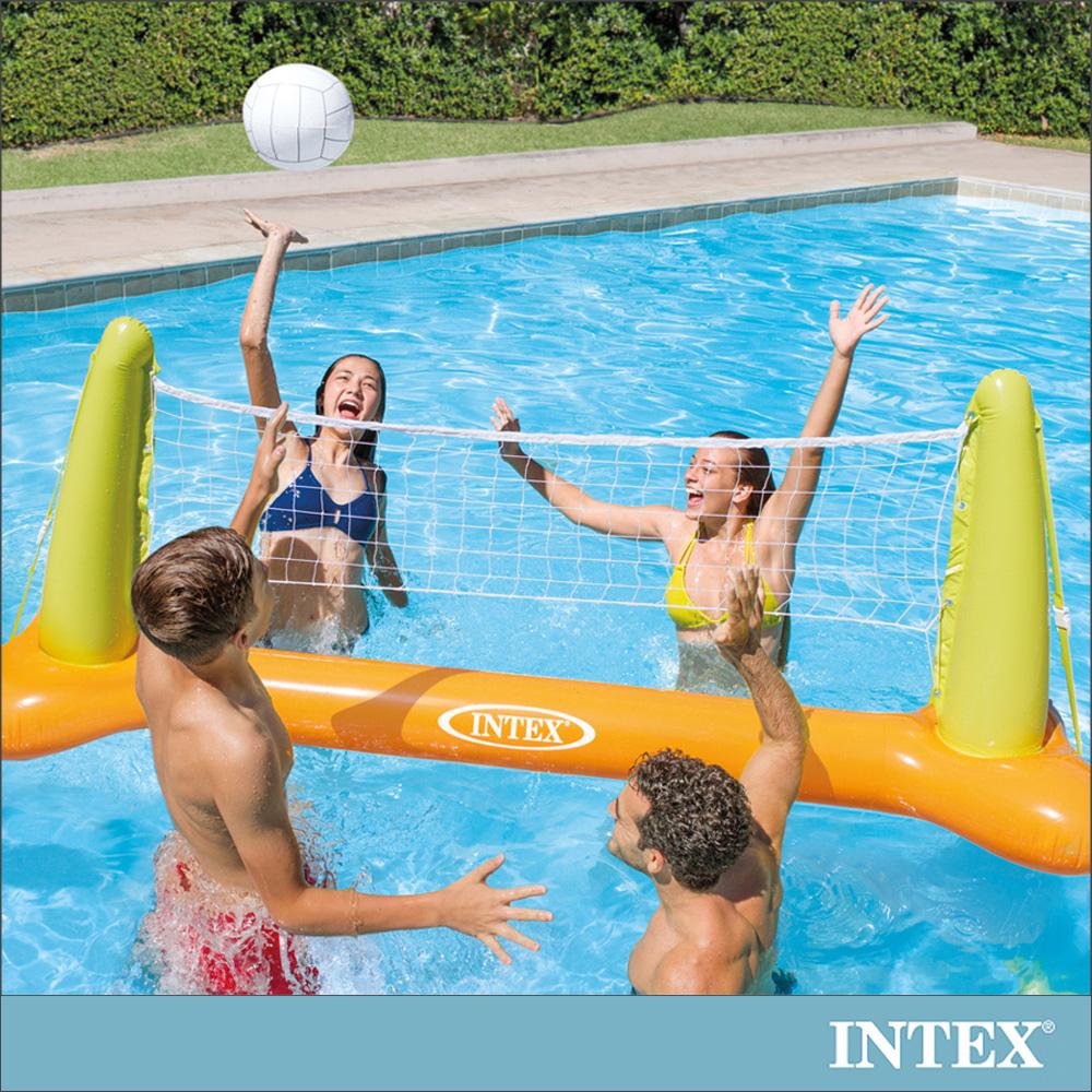 INTEX 兒童排球充氣玩具/水上排球網架 (56508)