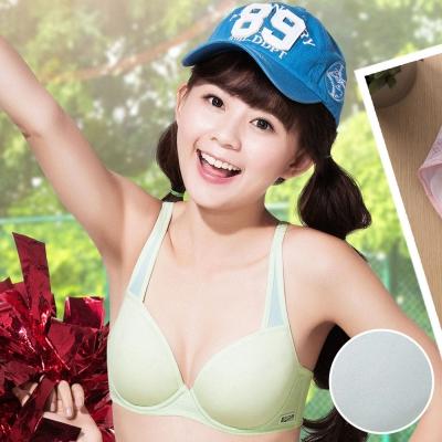 嬪婷 學生內衣 第三階段 校園運動 D-E罩杯內衣 (能量灰)