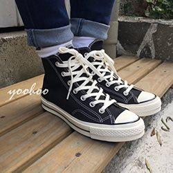 Converse 70s All Star 奶油頭厚底帆布鞋