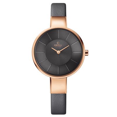 OBAKU 采麗時刻時尚腕錶-V149LXVJRJ/32mm