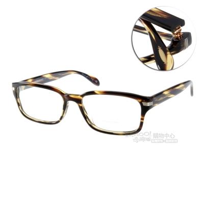 OLIVER PEOPLES眼鏡 好萊塢星鏡/彩紋咖啡#JONJON 1003