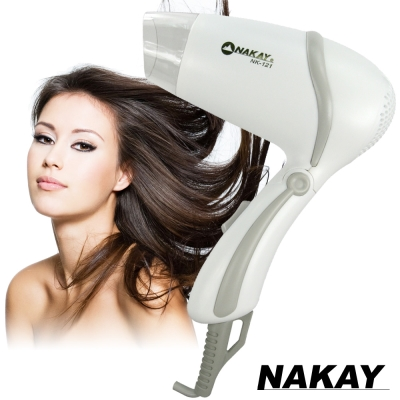 NAKAY輕巧型溫熱風吹風機-NK-121