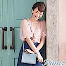 KINAZ 玫瑰花園鏈帶斜背包-愛麗絲藍-浪漫舞曲系列
