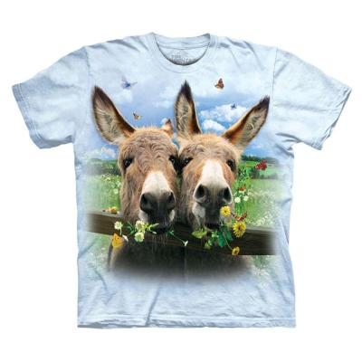 摩達客 美國進口The Mountain 驢愛小雛菊 純棉環保短袖T恤
