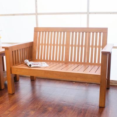 Bernice 喬納森實木雙人椅