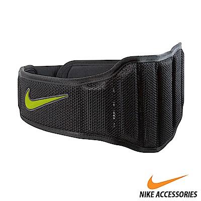 NIKE 舉重訓練腰帶2.0(男用)黑/黃