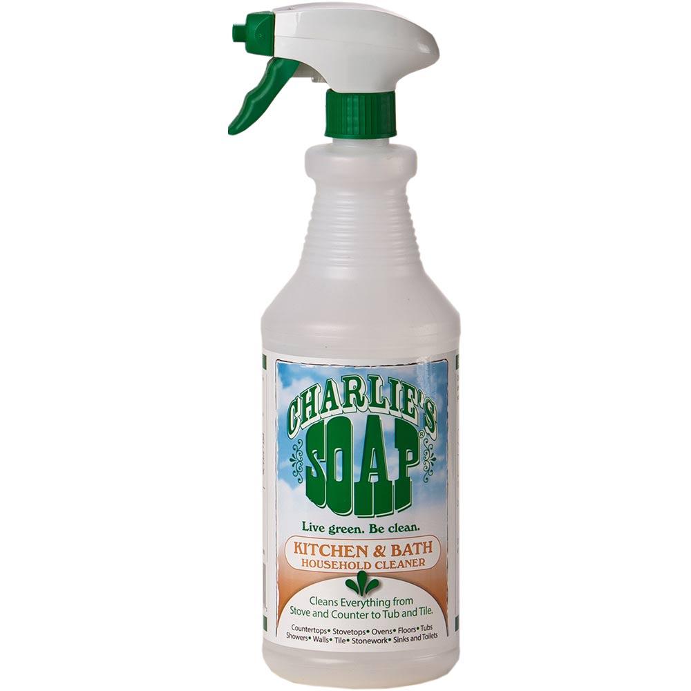 查理肥皂Charlie s Soap 廚房衛浴家用清潔劑(0.95公升x2瓶)
