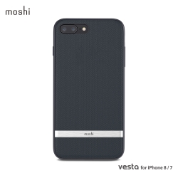 Moshi Vesta for iPhone 8/7 Plus 風尚布質保護背殼