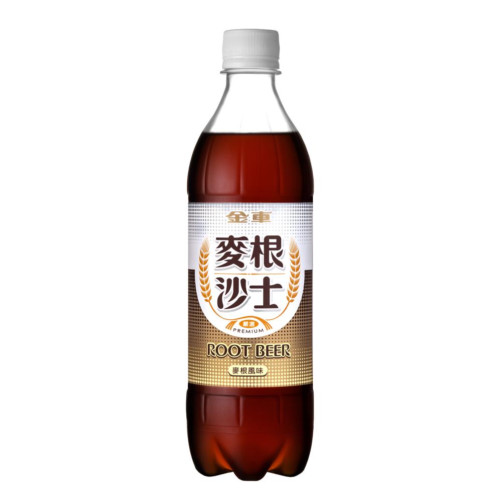 金車 麥根沙士(585mlx24瓶)