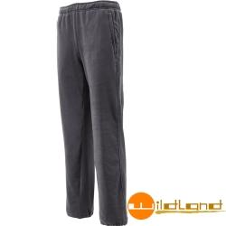 Wildland 荒野 W2530-95鐵灰 男奈米銀機能彈性刷毛長褲