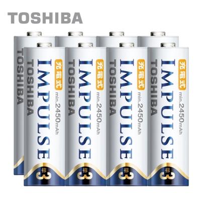 TOSHIBA IMPULSE 高容量低自放電電池(內附3號8入)