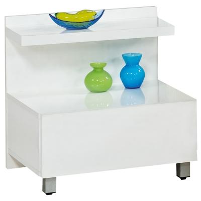 時尚屋 現代一抽床頭櫃-可選色