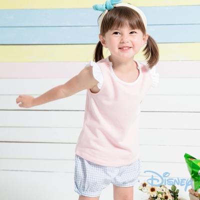 麗嬰房 Disney Baby 米妮小飛袖女孩上衣 粉桔