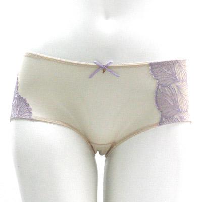 【La Felino】優雅夏日平口褲 (浪漫紫)