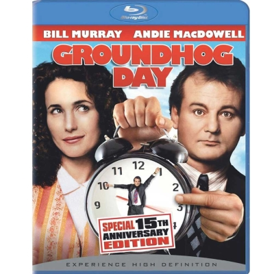 今天暫時停止  Groundhog Day  藍光 BD