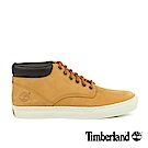 Timberland 男款小麥黃仿舊真皮休閒鞋
