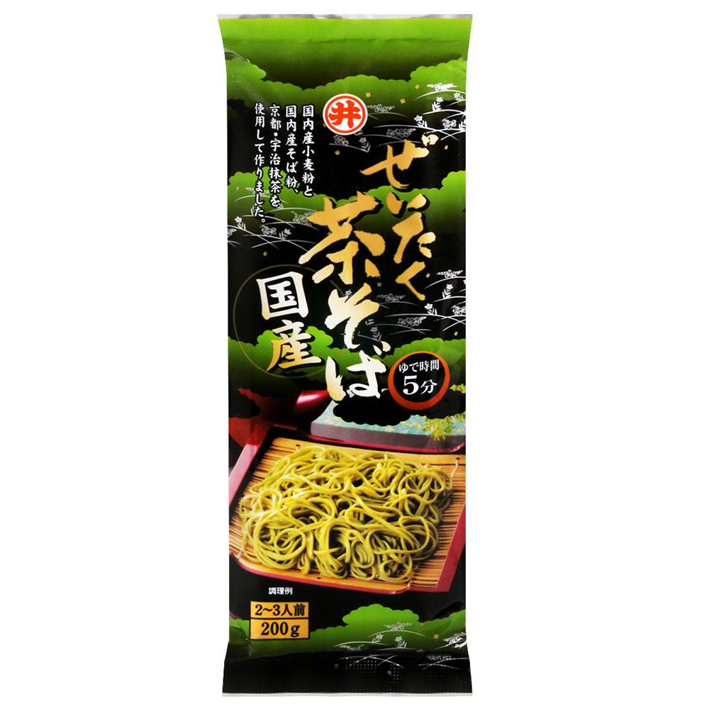 東亞食品 茶蕎麥麵(200g)