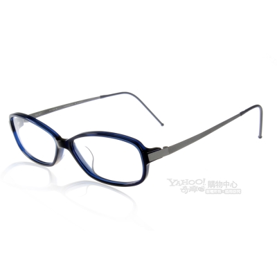 JULIO眼鏡 完美工藝/深藍色#ZURICH TBL