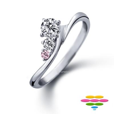 彩糖鑽工坊 19分 鑽石戒指 愛在蔓延系列