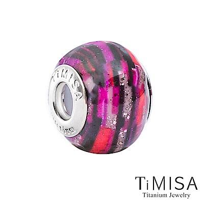 TiMISA 狂想曲-桃(11mm)純鈦琉璃 墜飾串珠